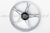 Диск колеса 1,4*17 (зад, барабан) (легкосплавный) Delta (+подшипник, резинки демпферные) GML