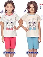 Комплект для девочек Baykar (туника и лосины)