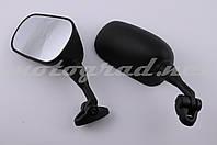 Зеркала SPOON широкоформатные (нога 70mm, черные)