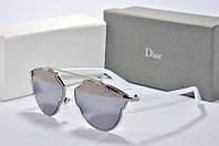 Солнцезащитные очки Dior So Real зеркальные