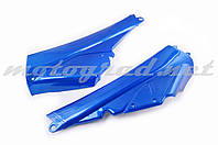 Пластик Active боковая пара на бардачок (синий) KOMATCU