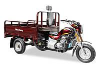 Грузовой трехколесный мотоцикл Musstang MT150-4V для перевозки стройматериалов