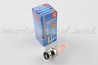 Лампа P15D-25-1 (1 ус) 12V 18W/18W (хамелеон розовый) BEST (mod:A)