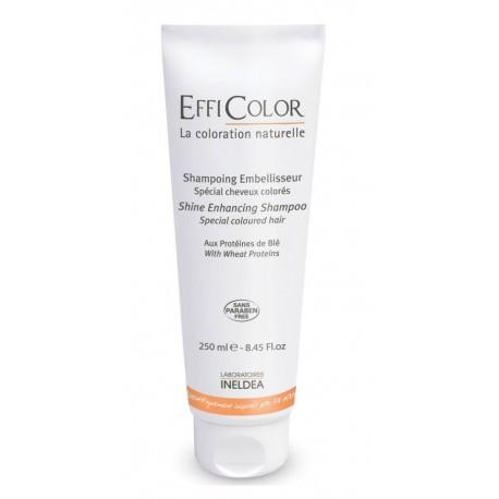Підсилює блиск шампунь – спеціальний для фарбованого волосся EffiColor,250 мл