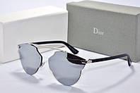 Солнцезащитные очки фигурные Dior So Real зеркальные