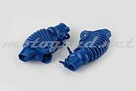 Пыльники резиновые на ручки выжимные (универсальные, синие) XJB