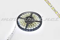 Лента светодиодная SMD 5050 (белая, влагостойкая, 60 крист/1м, бухта 5м)