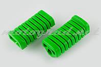 Резинки подножек водителя Delta (зеленые) XJB