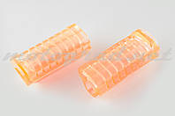 Резинки подножек водителя Delta (силиконовые, розовые) XJB