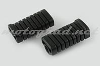 Резинки подножек водителя Delta (черные) XJB