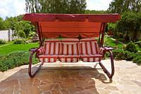 Качели садовые «Мастак», ткань с653