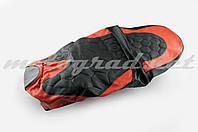 Чехол сиденья Active (черно-красный, KOSO) SOFT SEAT