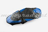 Чехол сиденья Active (черно-синий, KOSO) SOFT SEAT