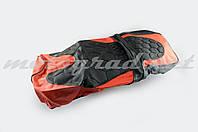 Чехол сиденья Alpha, CG (черно-красный, KOSO) SOFT SEAT