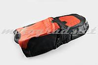 Чехол сиденья Alpha, CG (черно-красный, KOSO) SOFT SEAT (#0002)