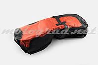 Чехол сиденья CG,CB,YBR125 (черно-красный) SOFT SEAT