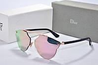 Солнцезащитные очки фигурные Dior So Real розовое зазеркалье