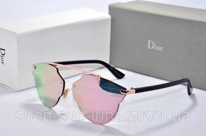0b1e3210e53b Солнцезащитные очки фигурные Dior So Real розовое зазеркалье - SunLike в  Киеве