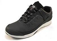 Кроссовки мужские ECCO кожаные, черные (еко)(р.40,41,42,43,44)
