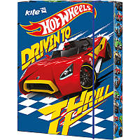 Папка картонная для труда на резинке KITE 2016 Hot Wheels 213 (HW16-213)