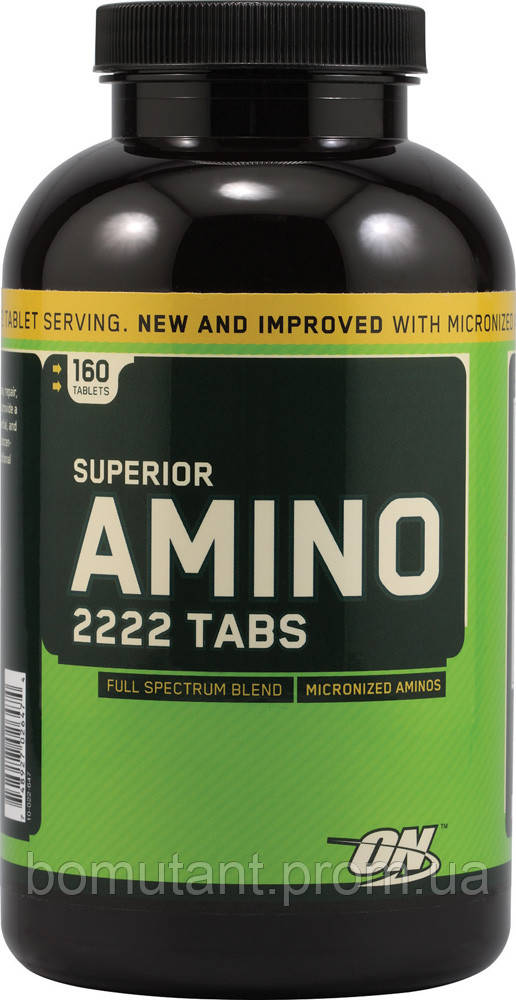 Optimum nutrition amino 2222 160 таблеток