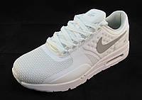 Кроссовки женские Nike Air Max текстиль белые (р.39,40,41)