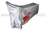 Чехол дождевик на скутер JCAA (солнцеотражающий) (серый)