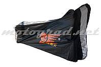 Чехол дождевик на скутер JCAA (черна-серый)