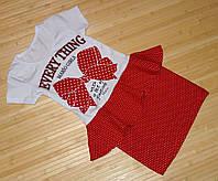 Платье баска Бант для девочки размеры на 3-9 лет