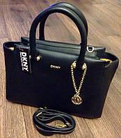 Стильная сумка  Донна Каран в черном цвете