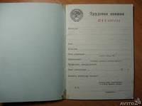 Трудовая книжка ссср 1974 г.в.