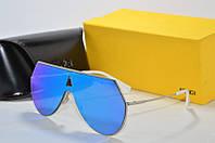 Солнцезащитные очки Fendi синие, фото 1