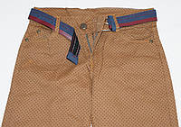 Штаны-джинсы 1-2-3-4 года Горошек