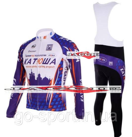 ДЕМИСЕЗОННАЯ Велоформа Katusha 2012 bib