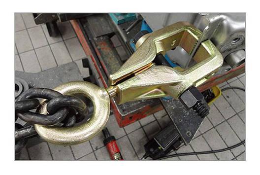 Захват для кузовных работ однофункциональный 3 тонн TOPTUL JFDB0103, фото 2