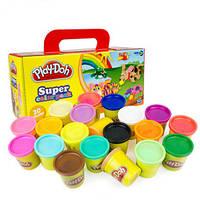 Набор пластилина из 20 баночек Play-Doh