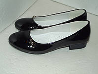 Лаковые туфли  для девочки, р. 33 - 36