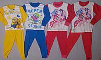 Пижамы герои дисней размеры на 2-6 лет
