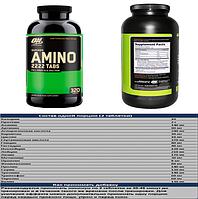 Superior amino 2222 320 таб optimum nutrition