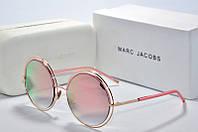 Солнцезащитные очки круглые Marc Jacobs розовые, фото 1