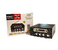Отличный усилитель звука UKC SN-805U + Karaoke. Хорошее качество. Практичный дизайн. Купить. Код: КДН1523