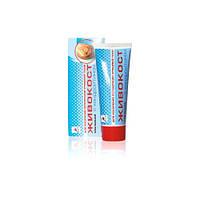 Крем-бальзам «ЖИВОКОСТ» с хондроитином (для ускорения регенерации хрящевой ткани) 75мл, Эликсир