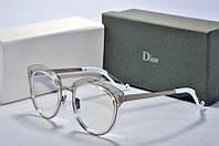 Оправа круглая Dior серебристая, фото 1