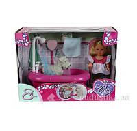 Кукла Эви и набор для купания собаки Steffi & Evi Love 5733094