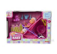 Кукольный набор Пупс Мини NBB с коляской Steffi & Evi Love 5030928