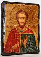 """Икона под старину """"Валерий святой мученик"""""""