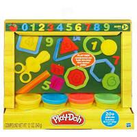 "Набор пластилина ""Учимся считать"" Play-Doh, 4 цвета"