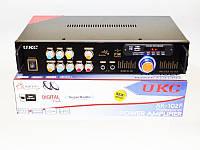 Портативный усилитель звука UKC AK-102F + Караоке и 2 микрофона. Хорошее качество. Купить онлайн. Код: КДН1526