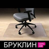 Коврик под стул прозрачный / Защитный коврик под офисное кресло / Коврик под  кресло 100х150 см, 2 см