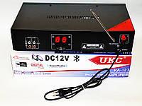Стерео усилитель UKC KA-123BT Karaoke. Интегральный усилитель. Отличное качество. Купить онлайн. Код: КДН1527